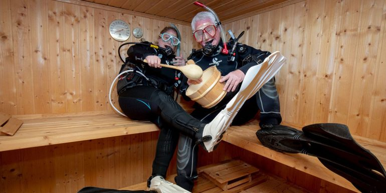 Top Dive Magazin Dive4life Tauchen und Sauna