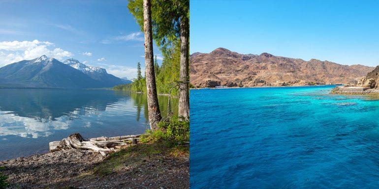 Top Dive Tauchen im Meer versus See