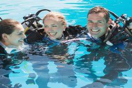Top Dive Tauchausbildung Urlaub vs Zuhause