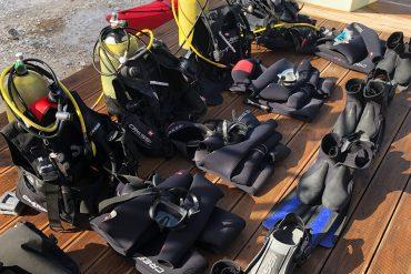 Top Dive Magazin Abtauchen auf Lefkas in Griechenland Tauchausrüstung