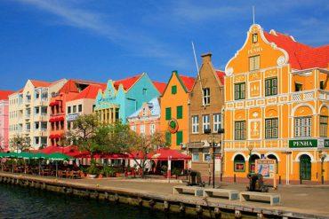 Niederländische Architektur auf Curacao