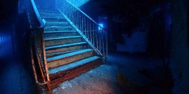 Treppe im Schiffswrack vor Gozo